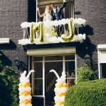 trouwdag ballon decoratie