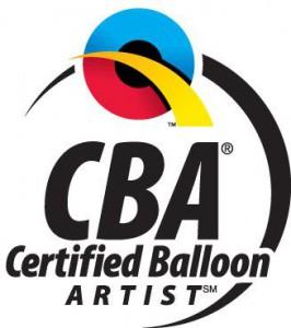 CBA Certified Balloon Artist logo