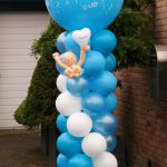Jongen geboren ballondecoratie