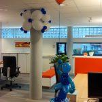 bedrijfsfeest decoreren ballonnen