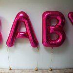 baby helium ballon