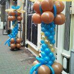 ballon pilaar bedrijf decoratie