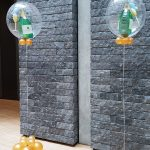 ballon decoratie champagnefles