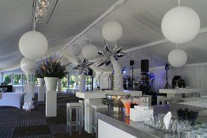 feest strak modern ballondecoraties De Decoratieballon