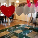 helium ballon trouwdag
