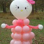 meisje geboren ballonversiering