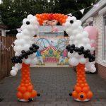 ballondecoratie geboorte feest