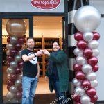 bedrijfsopening ballon decoratie