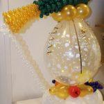 champagnefles cadeau ballon