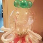 Geld in ballon verpakken