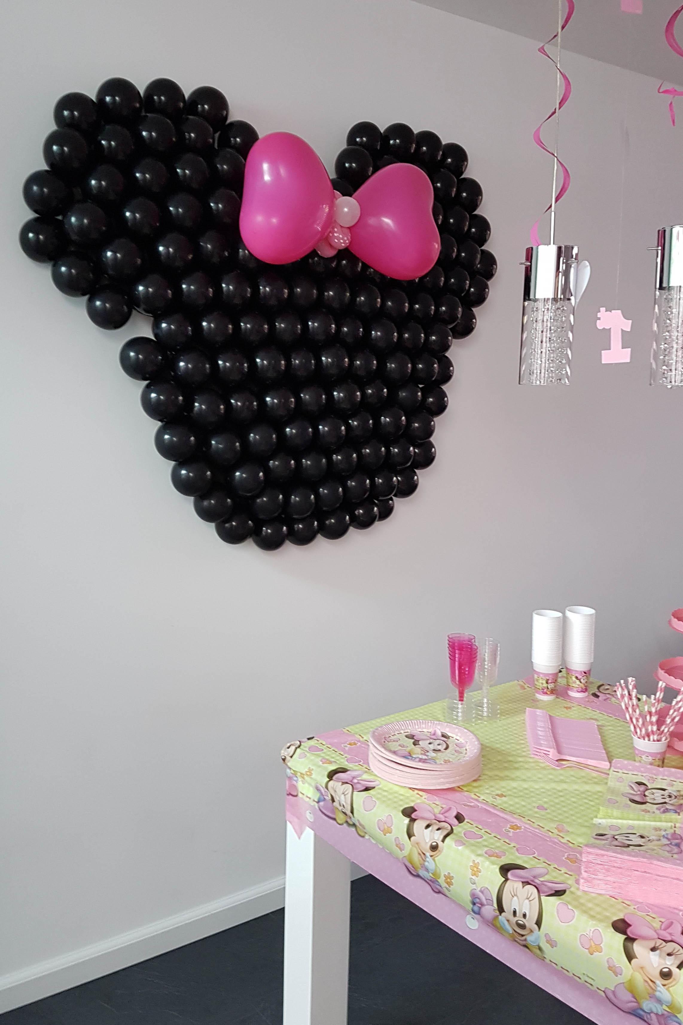 minnie mouse versiering verjaardag