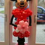 ballon pilaar minnie mouse