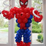 ballon decoratie spiderman