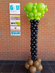 ballonpilaarinvormspijkerSpikkerUrkDeDecoratieballon