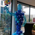 welkom ballon ingang bedrijfsfeest