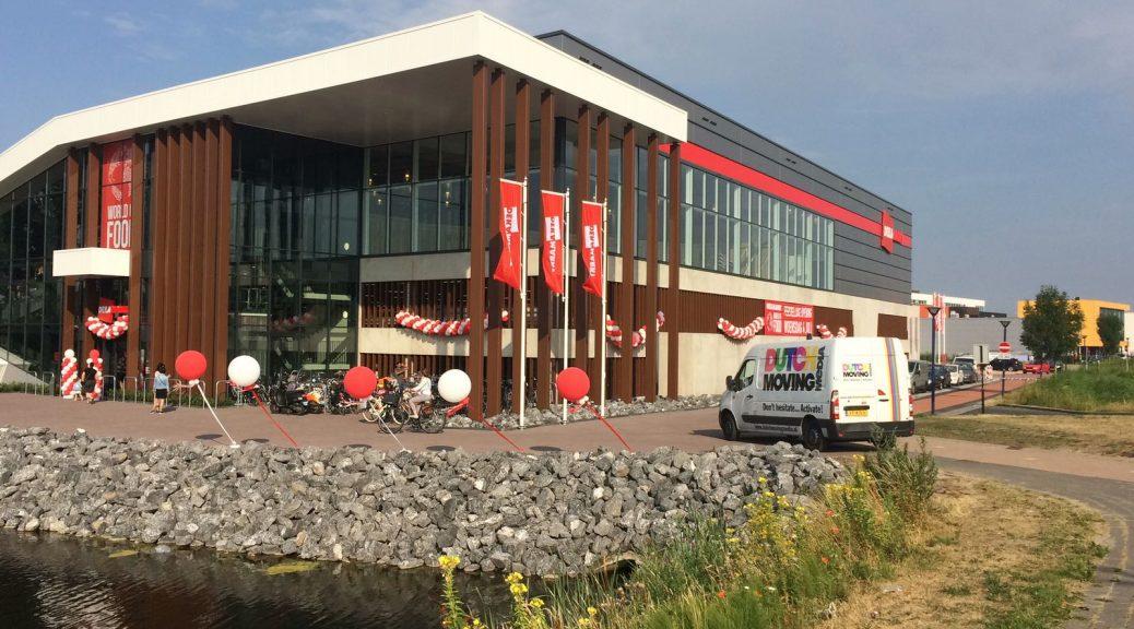 Ballondecoraties opening Dekamarkt Amersfoort